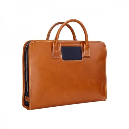 Travelteq laptop tas - golden/navy