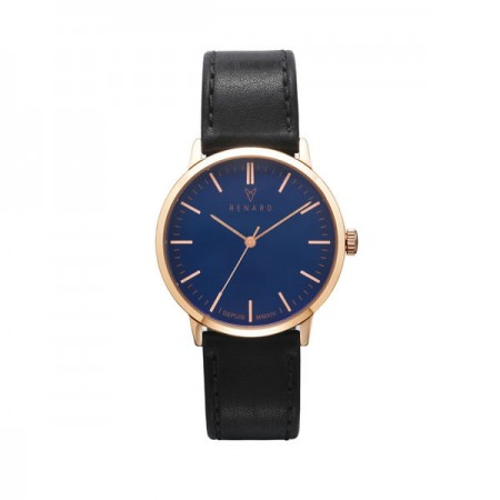 Renard Elite 35.5 - Blue Rose Gold Veau Black