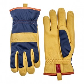 Hestra handschoenen Tor - Navy Natural Yellow