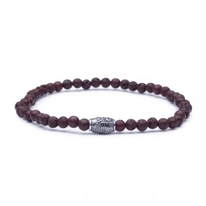 Viola Milano armband - Brown Igneous