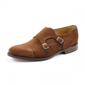 Loake Cannon - Brown Suede UK 9.5 - Stock Clearance