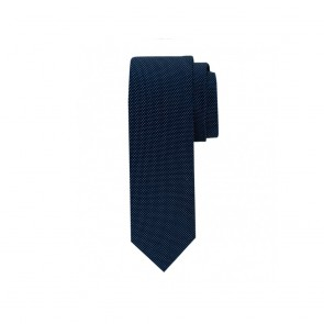 Profuomo zijden das - Business Blue