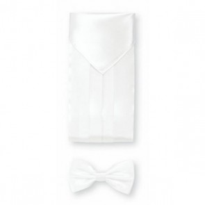 Cummerbund set - wit